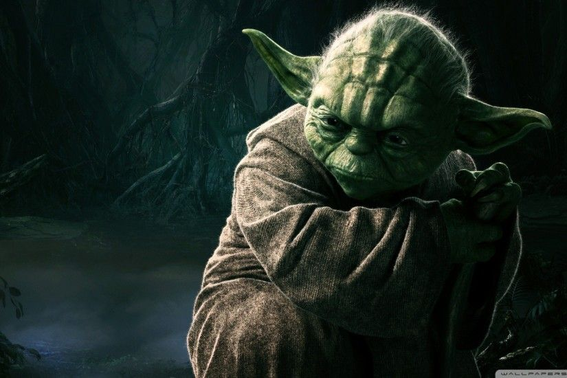 Star Wars Yoda Jedi Master 1920x1080 HD Wallpaper Movies