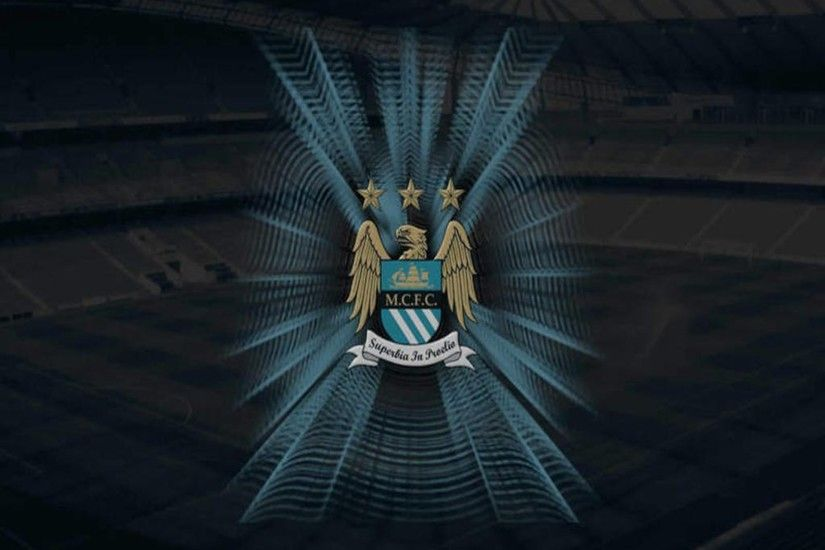 The famous logo of Manchester City