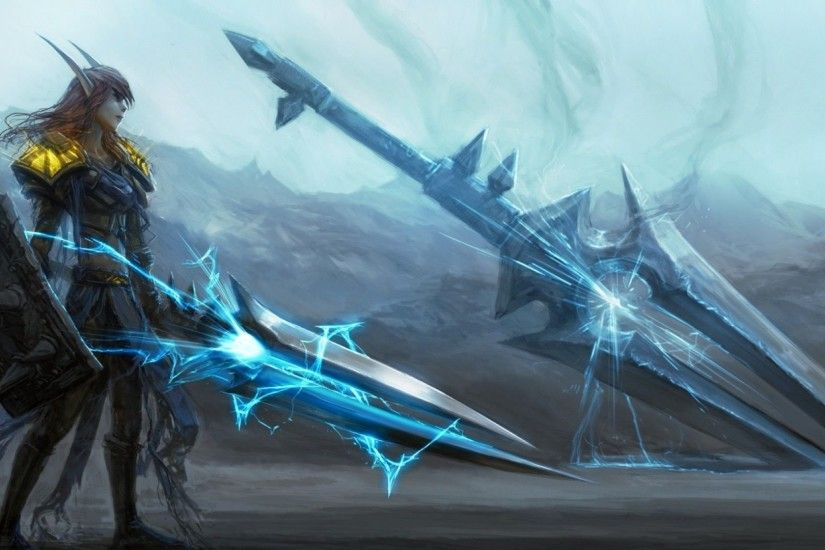 World Of Warcraft Paladin Wallpaper Background