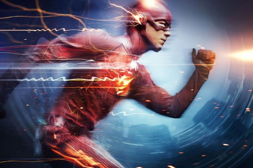 ... Barry Allen as The Flash, the fastest man alive, blitzing through the  city using the Speed Force. Also features a cameo from the Reverse Flash,  Zoom.
