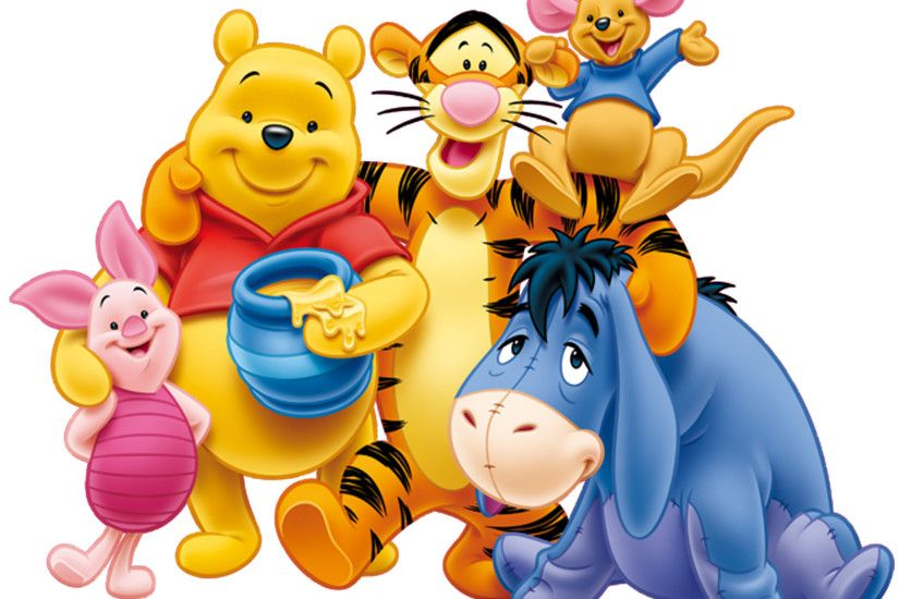 winnie the pooh theme background images