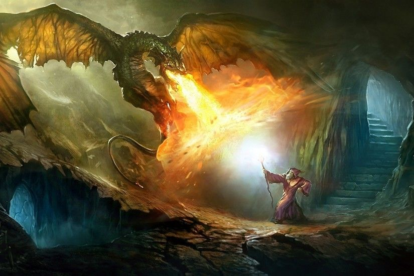 1920x1080 dragon, Magicka, Video Games, Wizard, Fantasy Art Wallpapers HD /  Desktop and Mobile Backgrounds