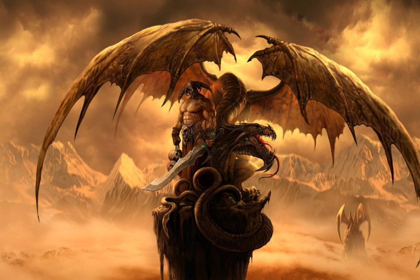 Huge Dragon – Fantasy At 3d Wallpapers