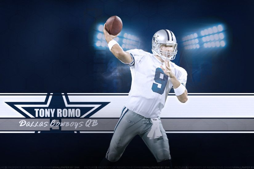 4k Ultra Dallas Cowboys Tony Romo HQ Definition Wallpapers