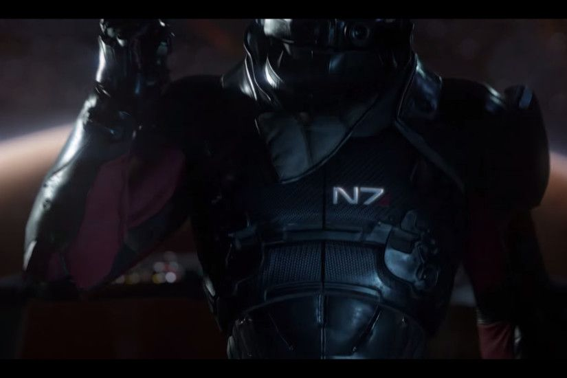 Mass Effect: Andromeda N7 Armor Reference