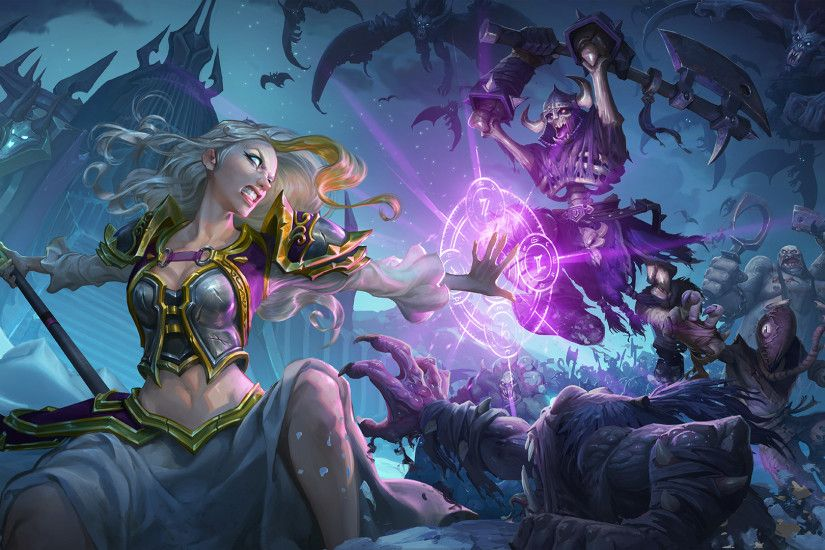 Death Knight Heroes – Mobile Jaina Fights Against Evil ...