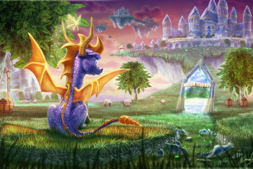 Spyro images Spyro Wallpaper HD wallpaper and background photos