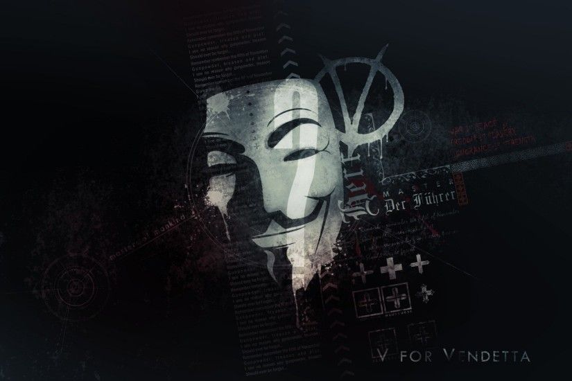 Anonymous Mask | HD Wallpapers · 4K ...