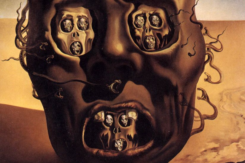 face of war salvador dali wallpaper 1080p