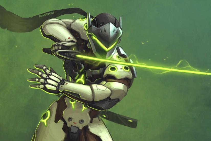 genji wallpaper 2560x1440 for lockscreen