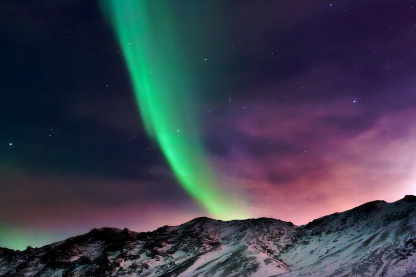 download aurora borealis wallpaper 1920x1200