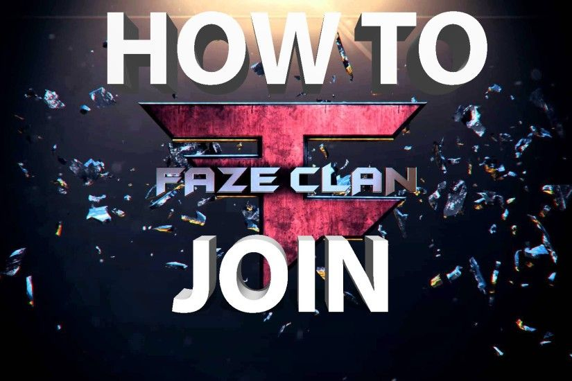 How to JOIN Faze clan (IT'S JUST A PRANK BRO!)