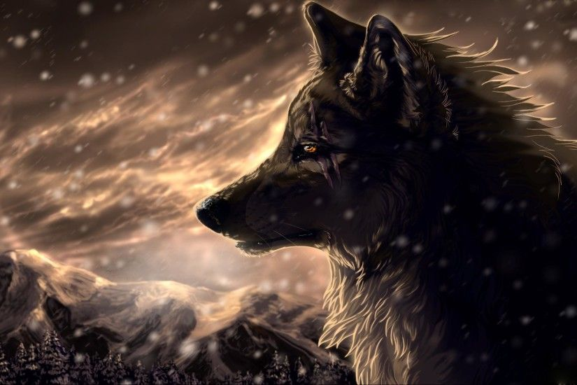 Animated <b>Wolf Wallpaper</b> - WallpaperSafari