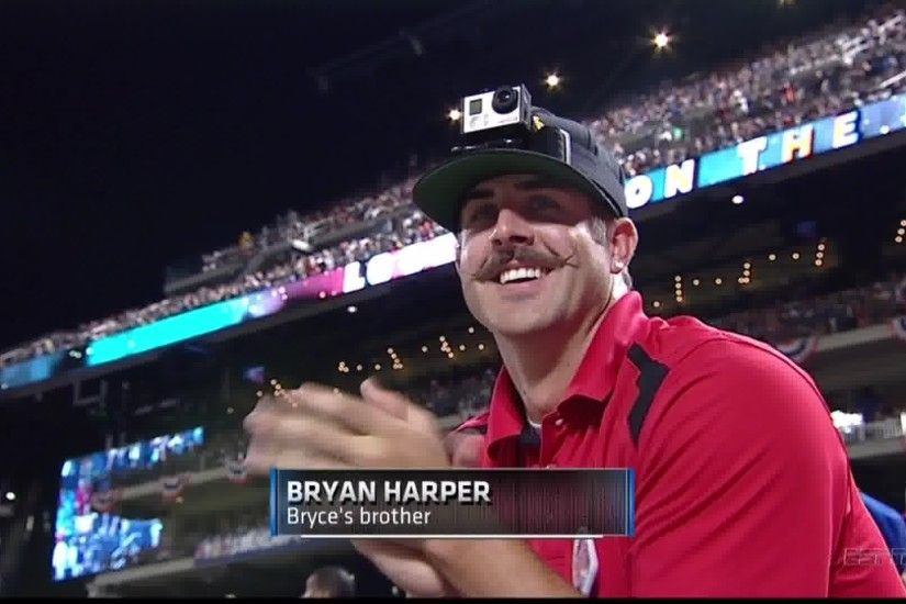 Bryce Harper's Brother Has a Mustache That Requires Waxing