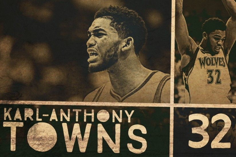 [Wallpaper] Karl-Anthony Towns ...