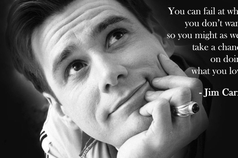 Jim Carrey on a lesson he learned from his father.
