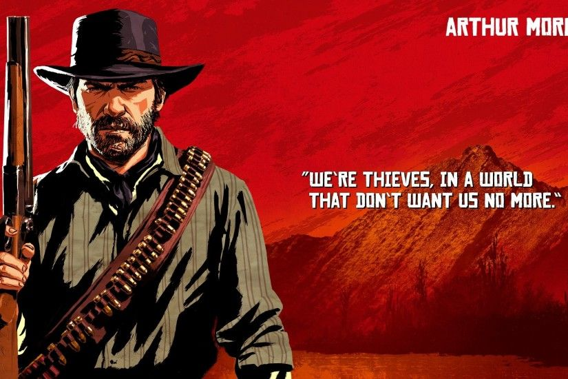 Wallpaper of Video Game, Red Dead Redemption 2, Arthur Morgan background &  HD image