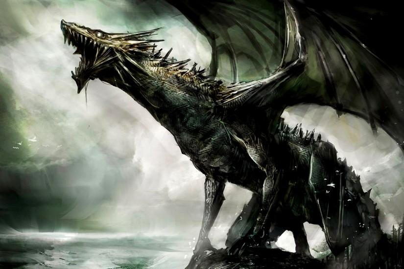Fantasy Dragon - Dragons Wallpaper (27155051) - Fanpop