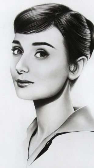 Beautiful Audrey Hepburn Wallpaper for Android.