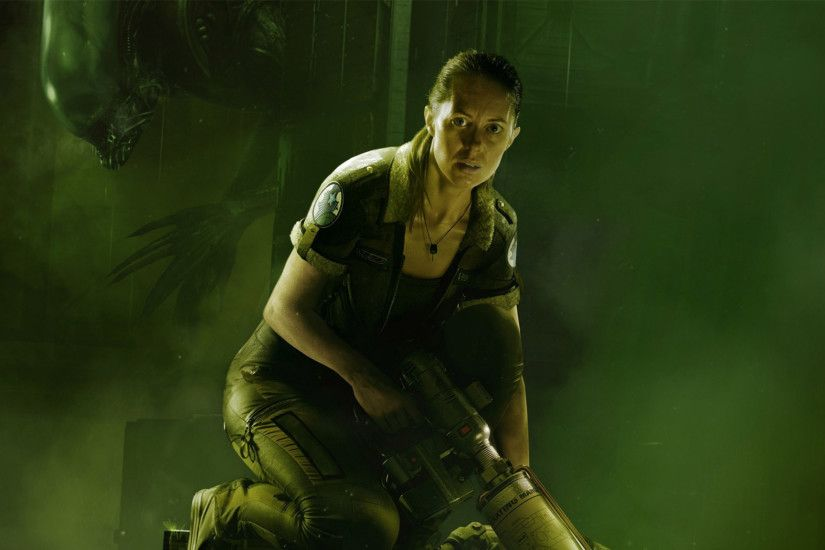 2048x1152 Wallpaper alien isolation, amanda ripley, creative assem