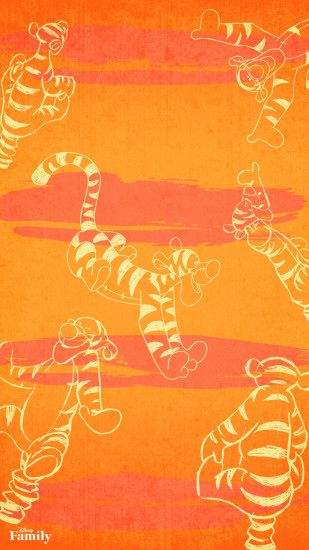 Screen wallpaper · Tigger