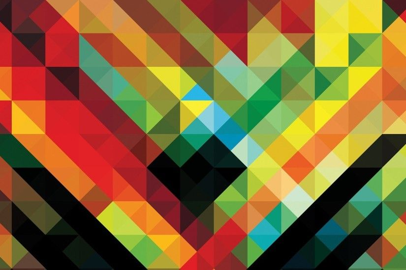 Africa Hitech Andy Gilmore Geometry Colorful Abstract Patterns