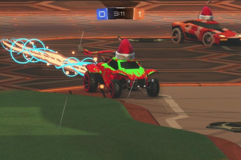 Rocket league octane boosting with breakout in background. Posted on Full  size 1920 × 1080