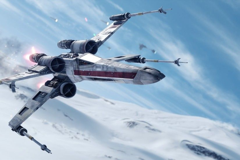 Star Wars: Battlefront, Star Wars, Video Games, X wing, Hoth Wallpapers HD  / Desktop and Mobile Backgrounds
