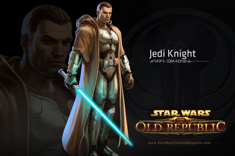 Preview wallpaper star wars the old republic, jedi knight, character,  lightsaber 3840x2160