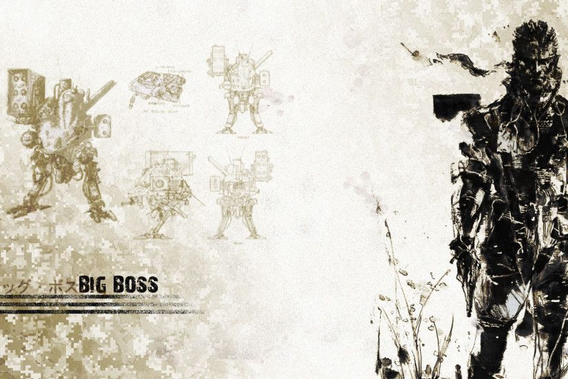 big boss mgs wallpaper 1920x1080 by harmpie fan art wallpaper games .