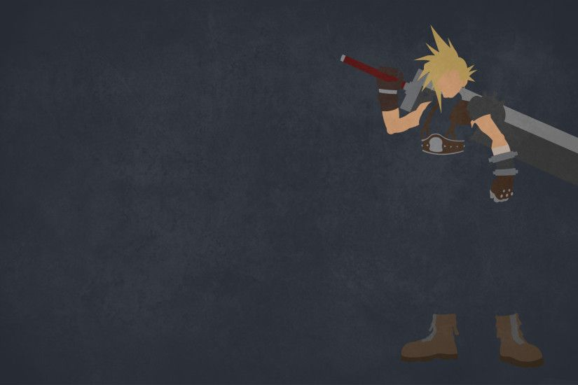 ... Cloud Strife 4 - Final Fantasy by dragonitearmy