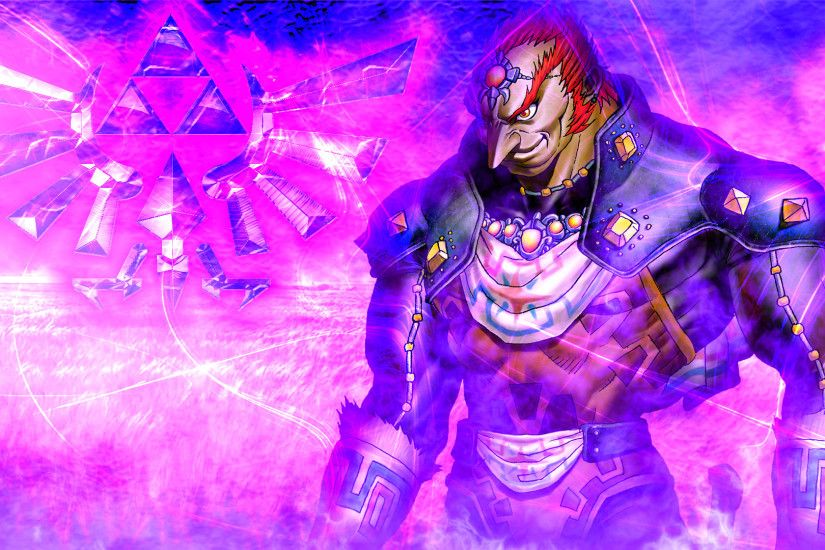 Ganondorf Purple Version:. by LivingDeadSuperstar