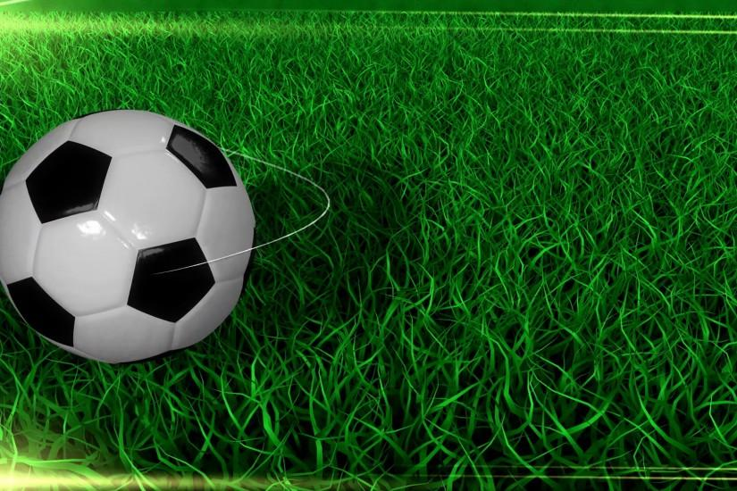 Sports background, soccer, ball, field, grass. Motion Background -  VideoBlocks