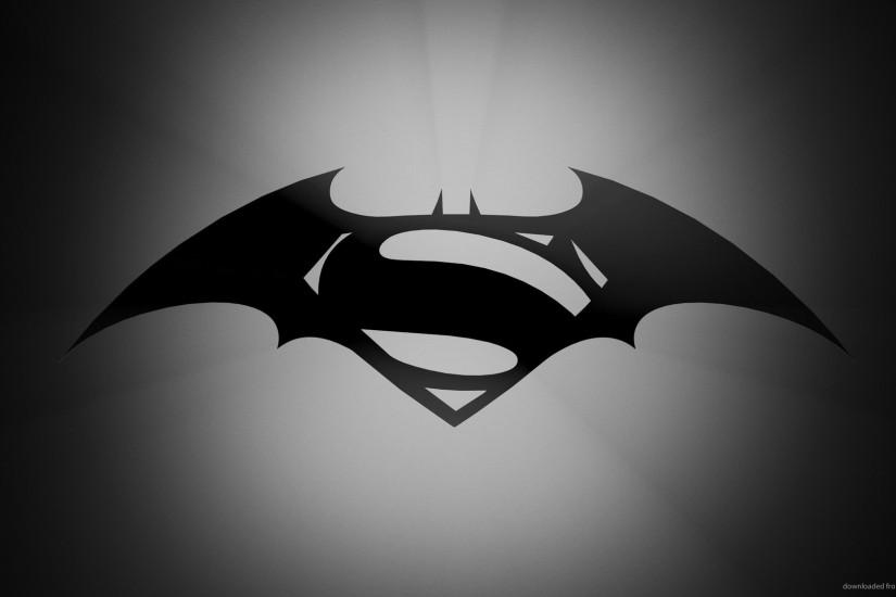Batman vs Superman Logos for 1920x1080