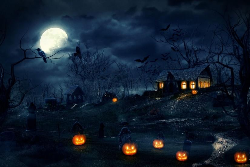 most popular halloween background 1920x1200 windows 10