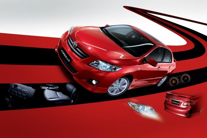 Design of the car Toyota Corolla