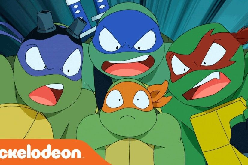 Teenage Mutant Ninja Turtles | 'Turtles Take Time (and Space)' by Brandon  Auman from SDCC | Nick - YouTube