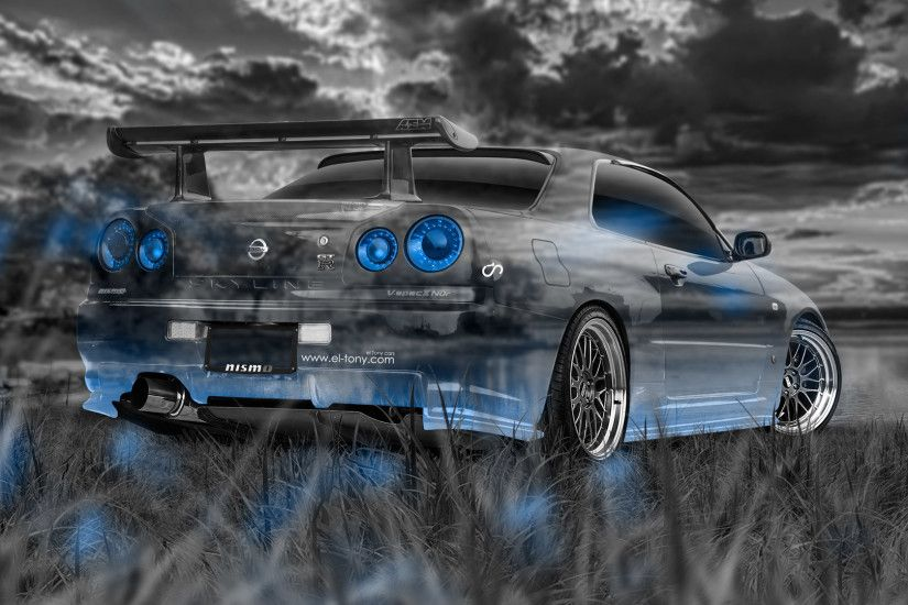 ... Nissan Skyline GTR R34 Wallpapers (51 Wallpapers) – Adorable Wallpapers  ...