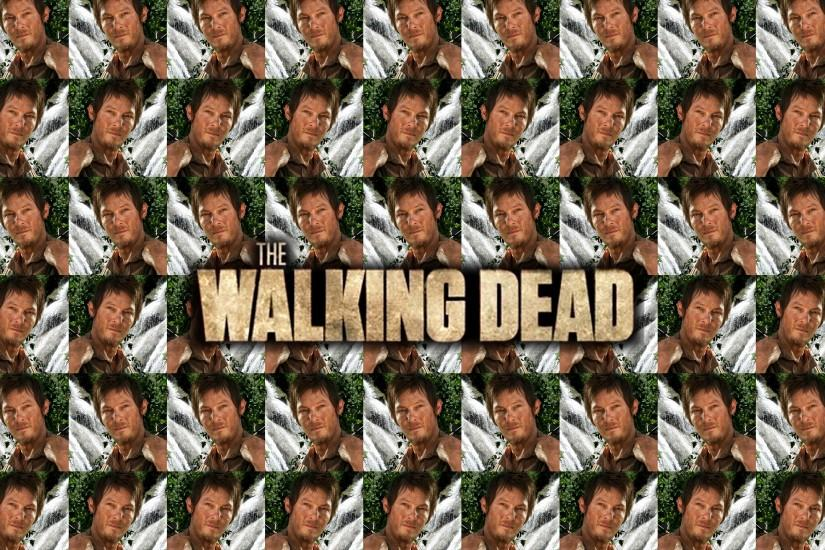 Daryl Dixon tiles wallpaper