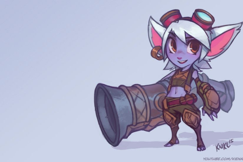 Tristana by KNKL HD Wallpaper Fan Art Artwork League of Legends lol