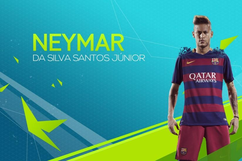 ... Neymar Jr. Wallpaper FIFA16 by KokiArt