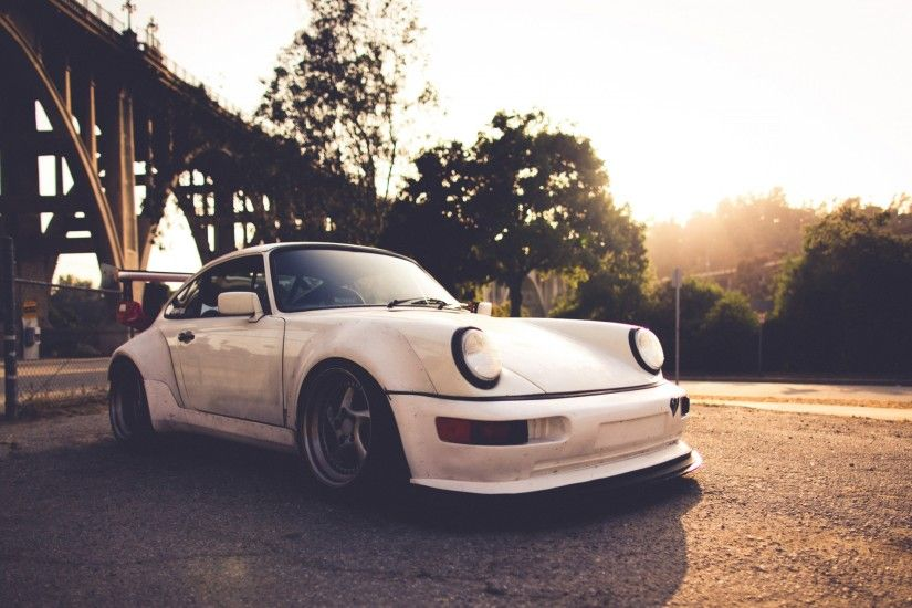 vintage white porsche 911 wallpaper cool tablet pc 3840×2160 Wallpaper HD