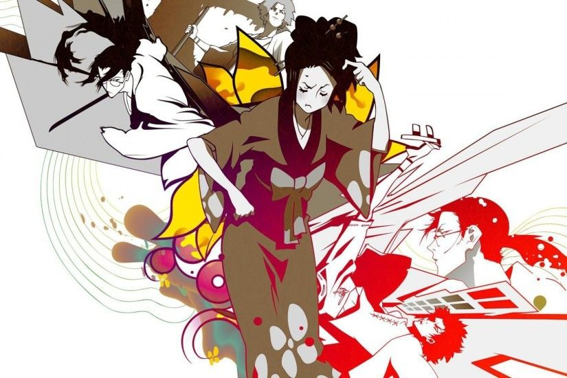 anime, Samurai Champloo, Fuu, Mugen, Jin (Samurai Champloo) Wallpapers HD /  Desktop and Mobile Backgrounds