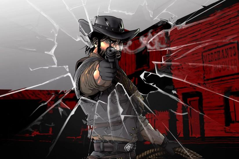 Red dead redemption wallpaper by dimitroncio Red dead redemption wallpaper  by dimitroncio