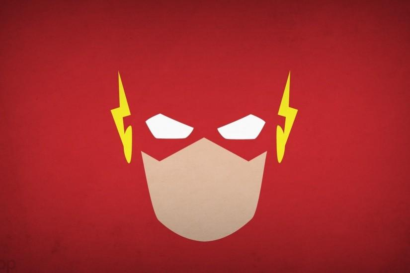 DC Comics,minimalism,simple background,The Flash,superheroes,comics, wallpaper