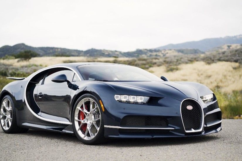 Behind The Wheel of A Bugatti Chiron, One of The Fastest Cars in The World
