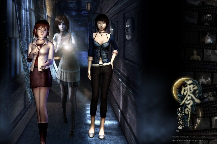 HQ Definition Backgrounds, Fatal Frame 4 - Alvina Flory