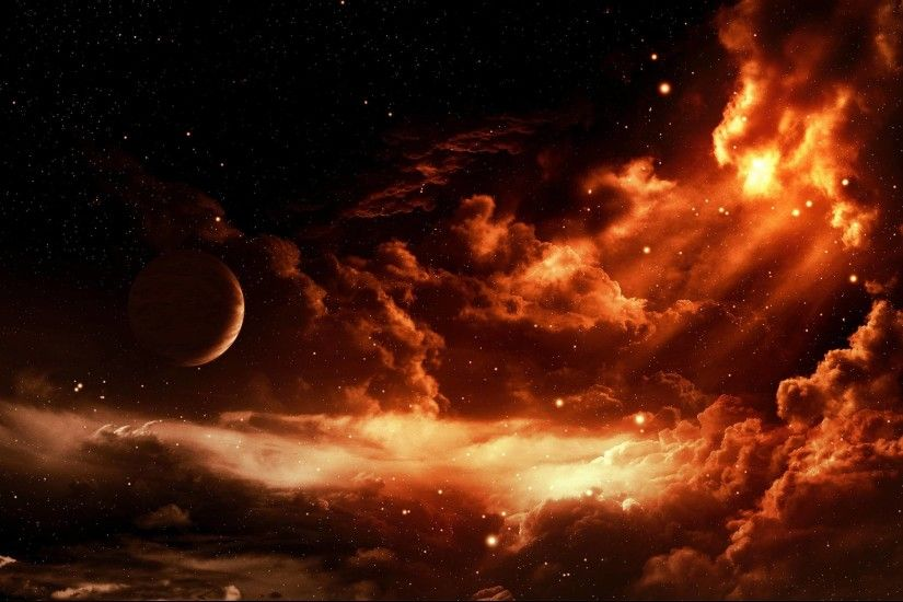 Fire Dragon Planet Sunset Hd Wallpapers 16968 Full HD Wallpaper .