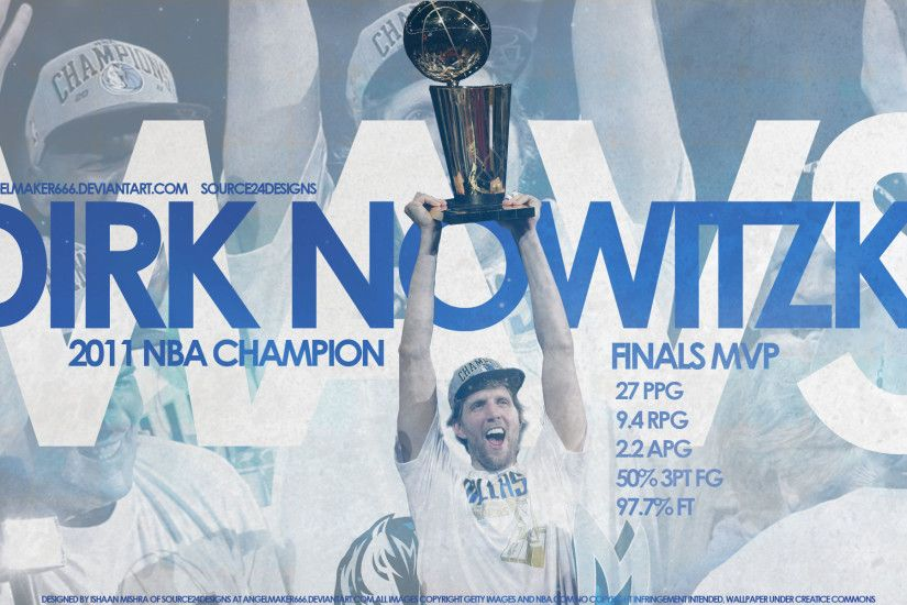 Dirk Nowitzki Wallpaper - Holding the Larry O'Brien Trophy High, Gladly  Showing It