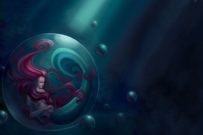 artwork, Fantasy Art, The Little Mermaid Wallpapers HD / Desktop and Mobile  Backgrounds